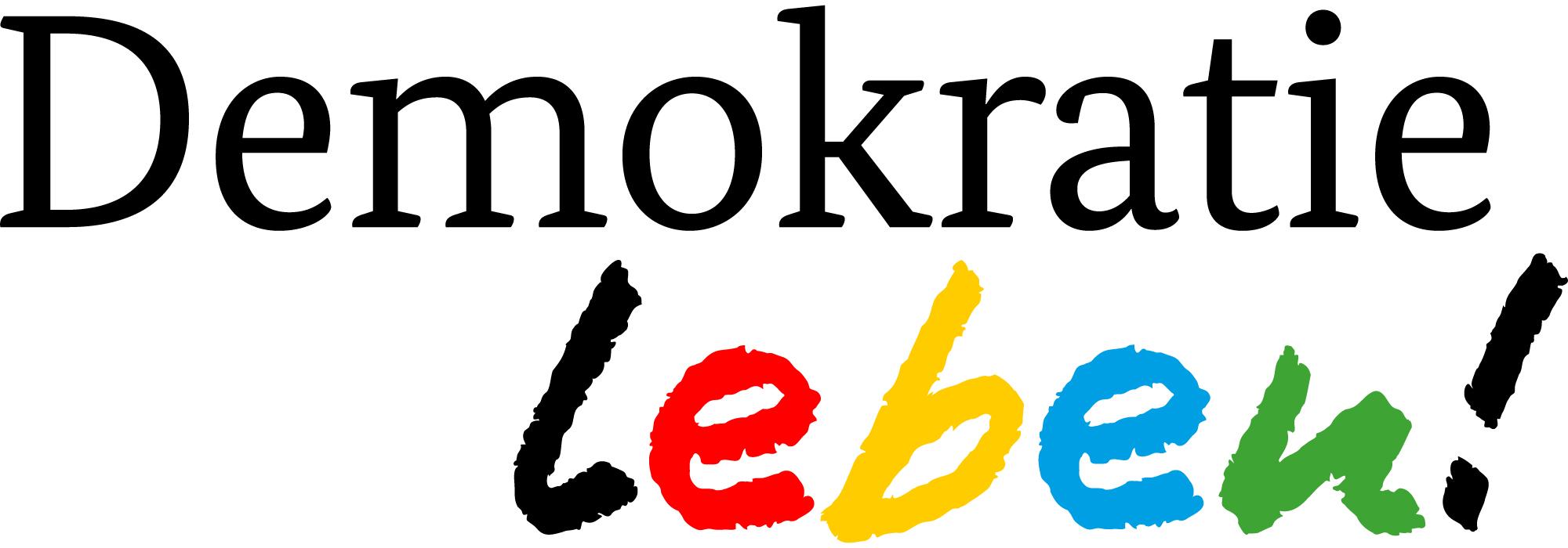 "Logo des Programms ""Demokratie leben"""