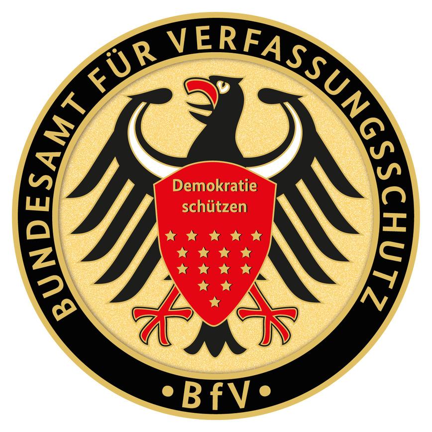 Logo: Bundesamt für Verfassungsschutz